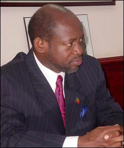 St. Kitts - Nevis' Prime Minister - Denzil Douglas