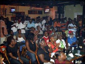 Obama Party At Sugar Bar St. Kitts