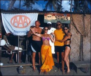 Sunshine's Beach Bar – Nevis Island, Bulldozed!!!