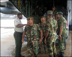 Suriname Forces Participate In Tradewinds Exercise