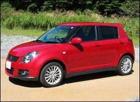 Suzuki Swift Sport - Nevis Rental Car