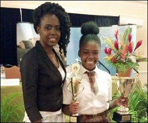 Syneja Richards - Tourism Award Winner