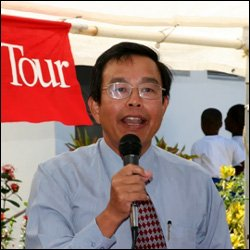 Taiwan Ambassador - Rong-Chuan Wu