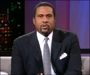 PBS TV Personality - Tavis Smiley