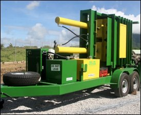 Tire Bailing - Recycling Machine In Nevis