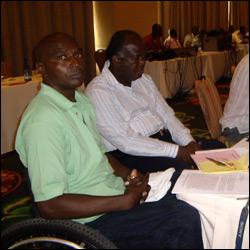 Tony Mills - Disabled Association Vice President