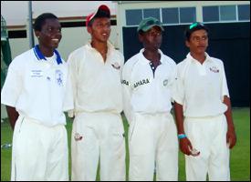 Members Of The Toronto Cricket Academy