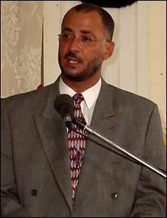 Richard Skerrit - Tourism Minister for St. Kitts - Nevis