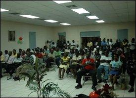 Town Hall Meeting In St. Maarten 2008