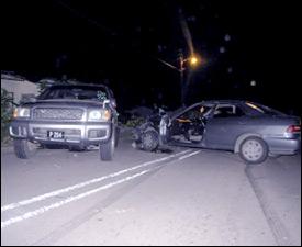 Injury Traffic Accident at Mansion