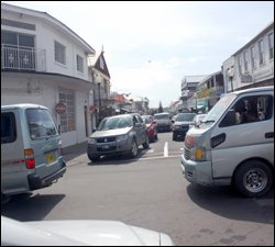 Daily Traffic Jam In Basseterre