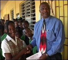 Trevoncia Stanley Receives Liburd Award