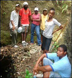 UNESCO Youth Path Team In Nevis