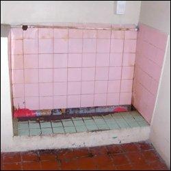 Unhygenic Urinal At Camp Springfield