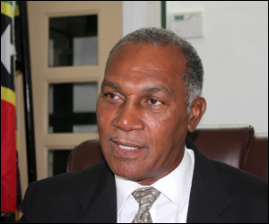 Nevis Premier and Finance Minister - Vance Amory