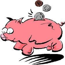 VAT Tax Piggy Bank