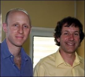(L-R) Dr. Warren Shatz and Dr. Raymond Hubby