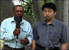 Mr. Walcott James and Mr. Atsushi Miura