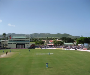 St. Kitts' Cricket Grounds In The Spotlight