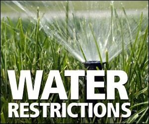 Water Restrictions Resume For The Future