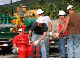 West Indies Power Drills In Nevis