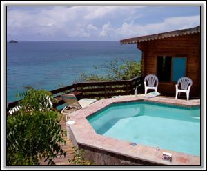 Williwah Bungalow - Hurricane Cove - Nevis, West Indies