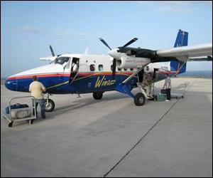 WinAir Flight In St. Kitts