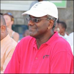 Winston Crooke - St. Kitts-Nevis Triathlon Federation President