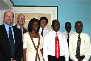 World Bank Team In Nevis