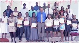 YES Programme Graduates - August 2010