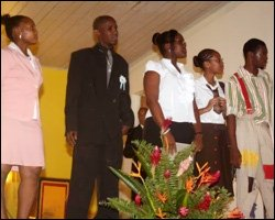 Young Pamites On Stage At Convention